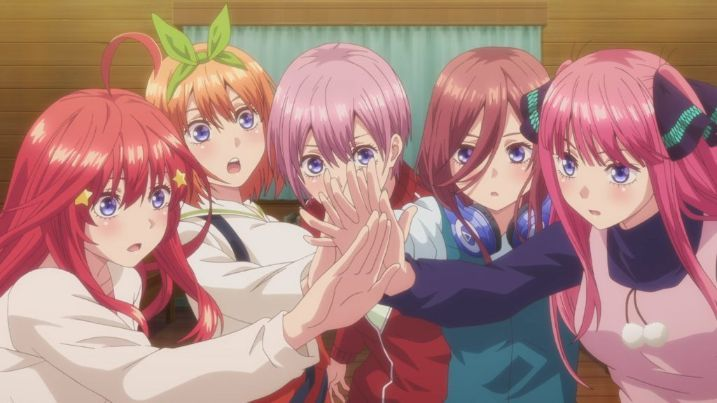 Quintessential Quintuplets anime girls