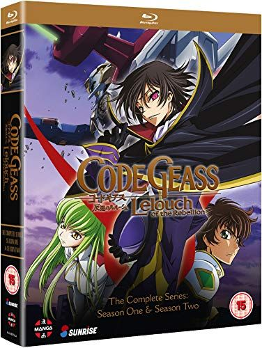 Code Geass: Lelouch of the Rebellion: Colección de la serie completa (Episodios 1-50) - Blu-ray